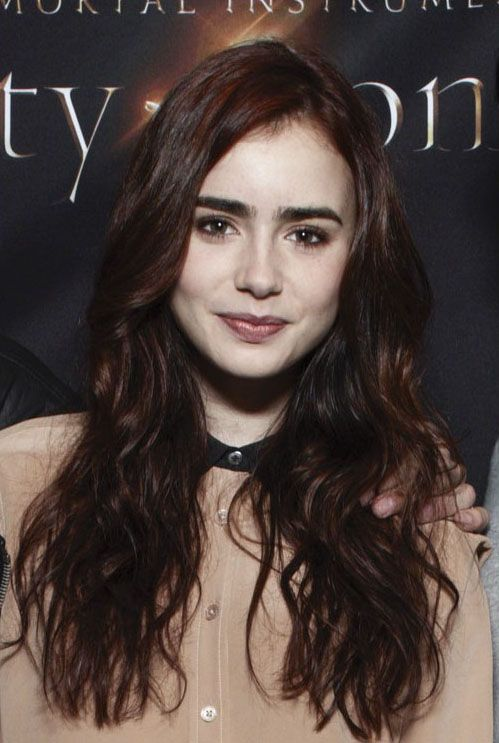 Lily Collins style | City of Bones Photocall | Style Icon ...