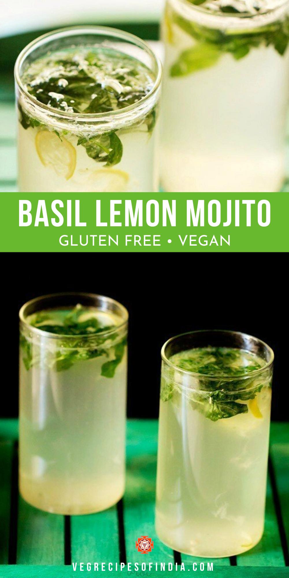Basil Lemon Mojito Mojito Recipe Lemon Mojito Recipe Mojito