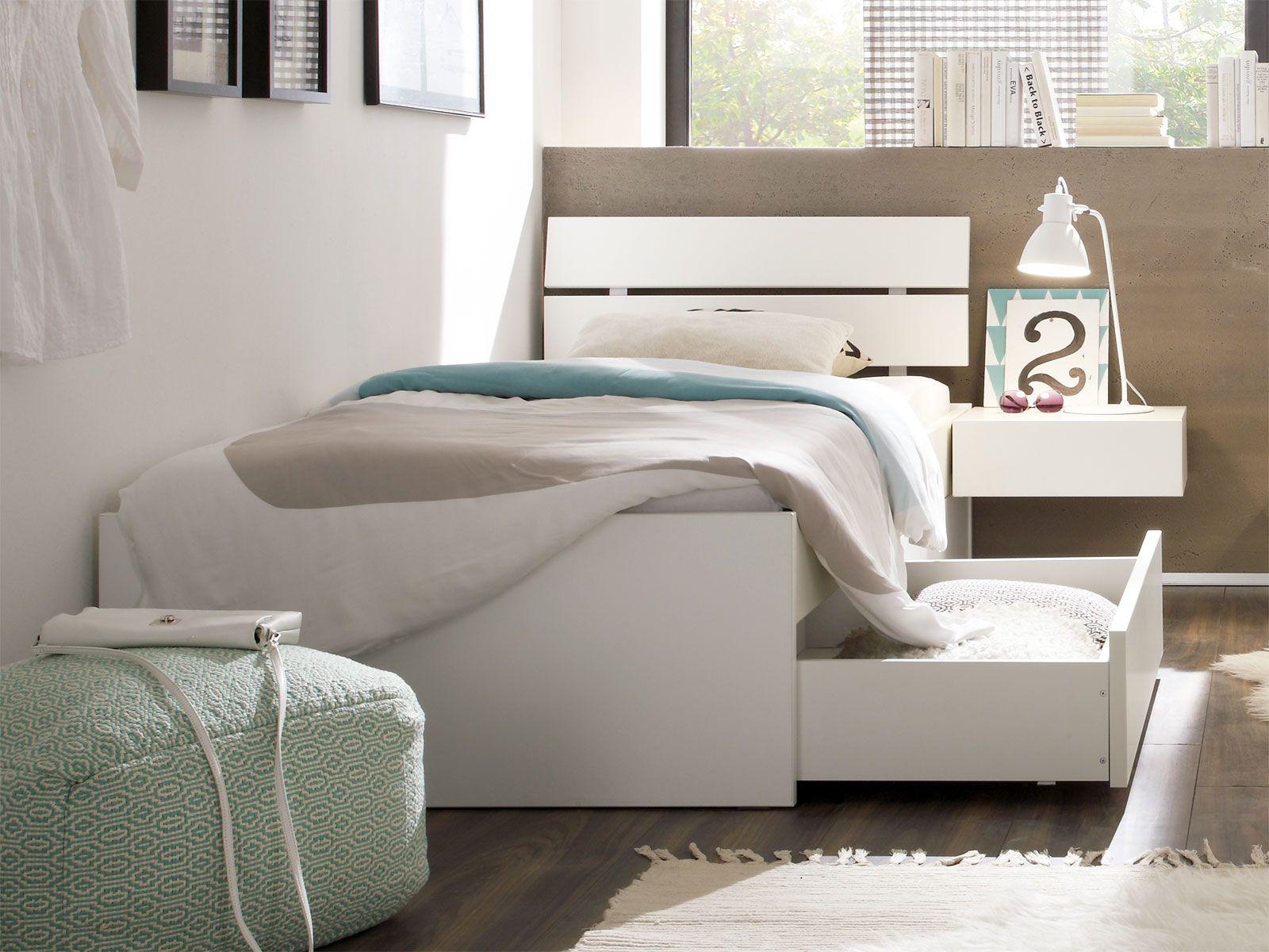 SchubkastenEinzelbett Mocuba Einzelbett, Bett ideen und