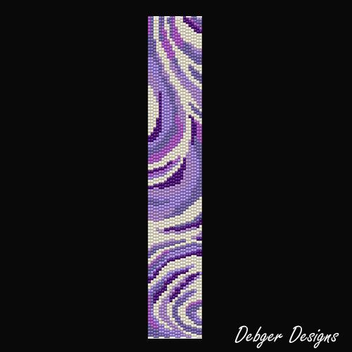 I use Miyuki Delica seed beads size 11 for my designs, but you can chop and change colours and beads as you please.    THIS PDF INCLUDES THE