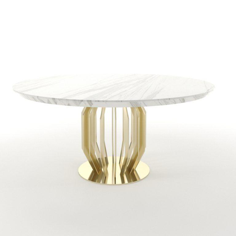 Arredi M2l Nuova Collezione Geneve Tavoli Da Pranzo In Marmo Mobili Di Lusso Arredamento