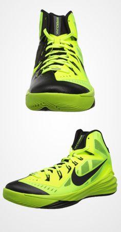 lime green nike basketball shoes