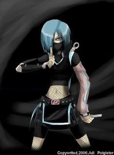 Demon Girl Anime Series Anime Ninja Ninja Girl Anime Warrior