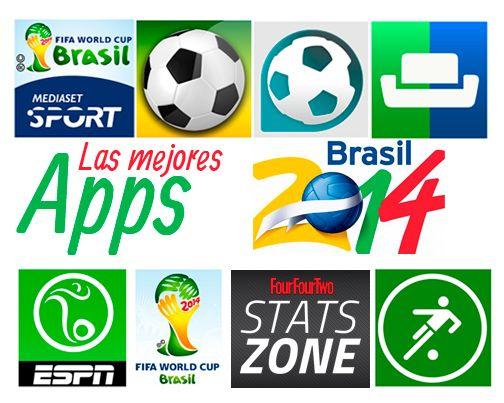 Sigue el Mundial de Brasil 2014 con las mejores apps. #TuEstasOn