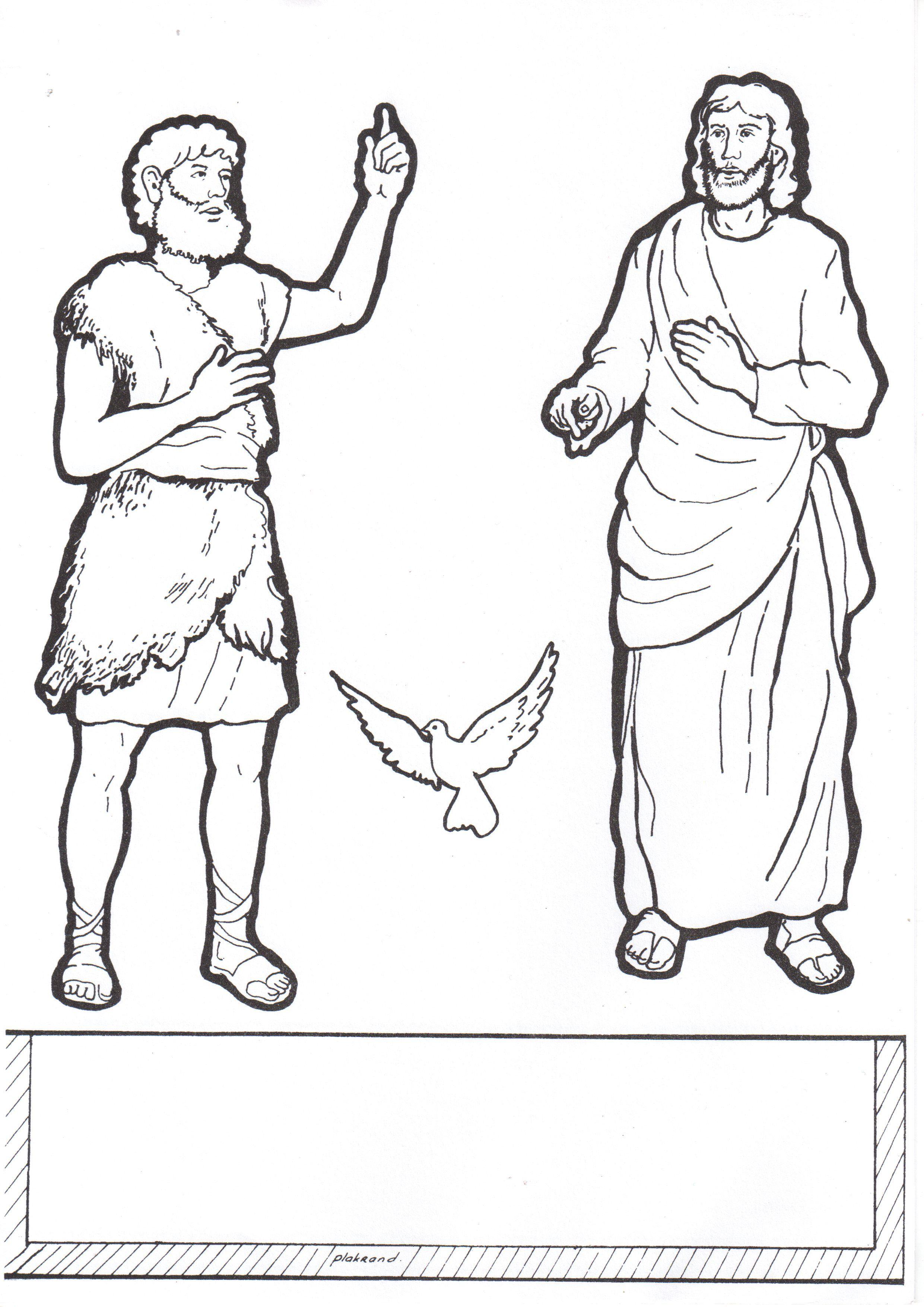 Jonah sunday school craft - Knutselwerkje Jezus Doop Deel 1 Bible Craft Jesus Baptisme