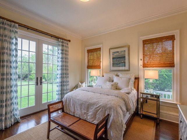 Traditional Shingle Style Home In Bridgehampton Ny Guest Bedroom Casual Comfort With