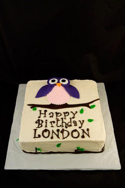 cute and easy owl cake Owl ideas Pinterest Easy owl cake Owl