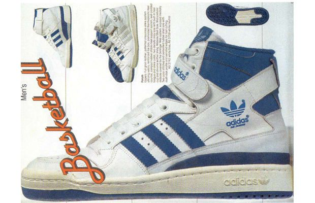 wholesale dealer 7403f d6d5d The 80 Greatest Sneakers of the 80s7. adidas Forum  sport sh