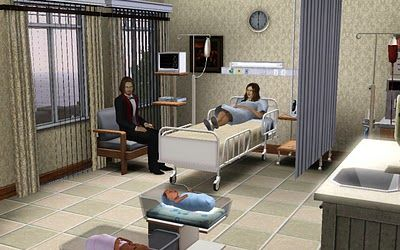 Jamee S Sims 3 Hospital For Story Telling Sims Sims 3 Sims 3 Mods