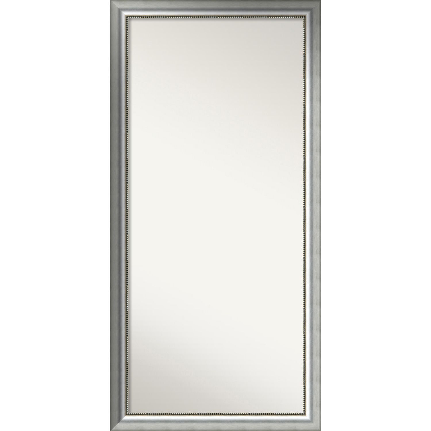 Wall Mirror Choose Your Custom Size Oversized Vegas Silver Wood