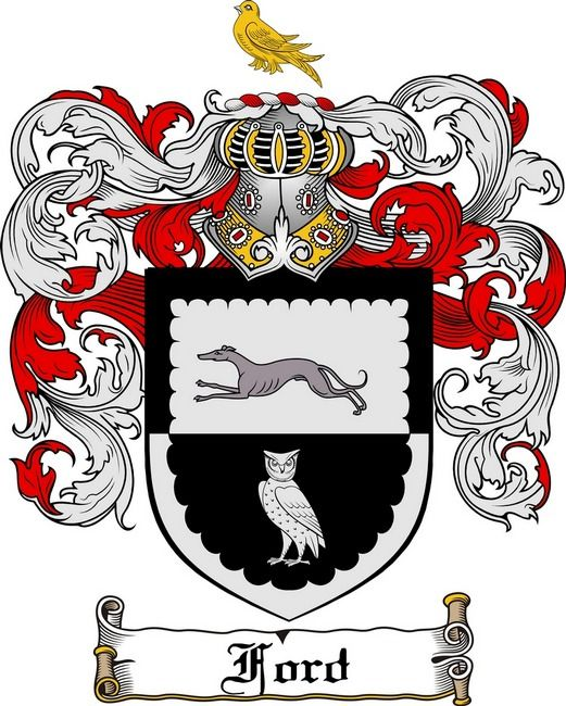 Ford Coat Of Arms Ford Family Crest Family Crest Coat Of Arms Family Shield