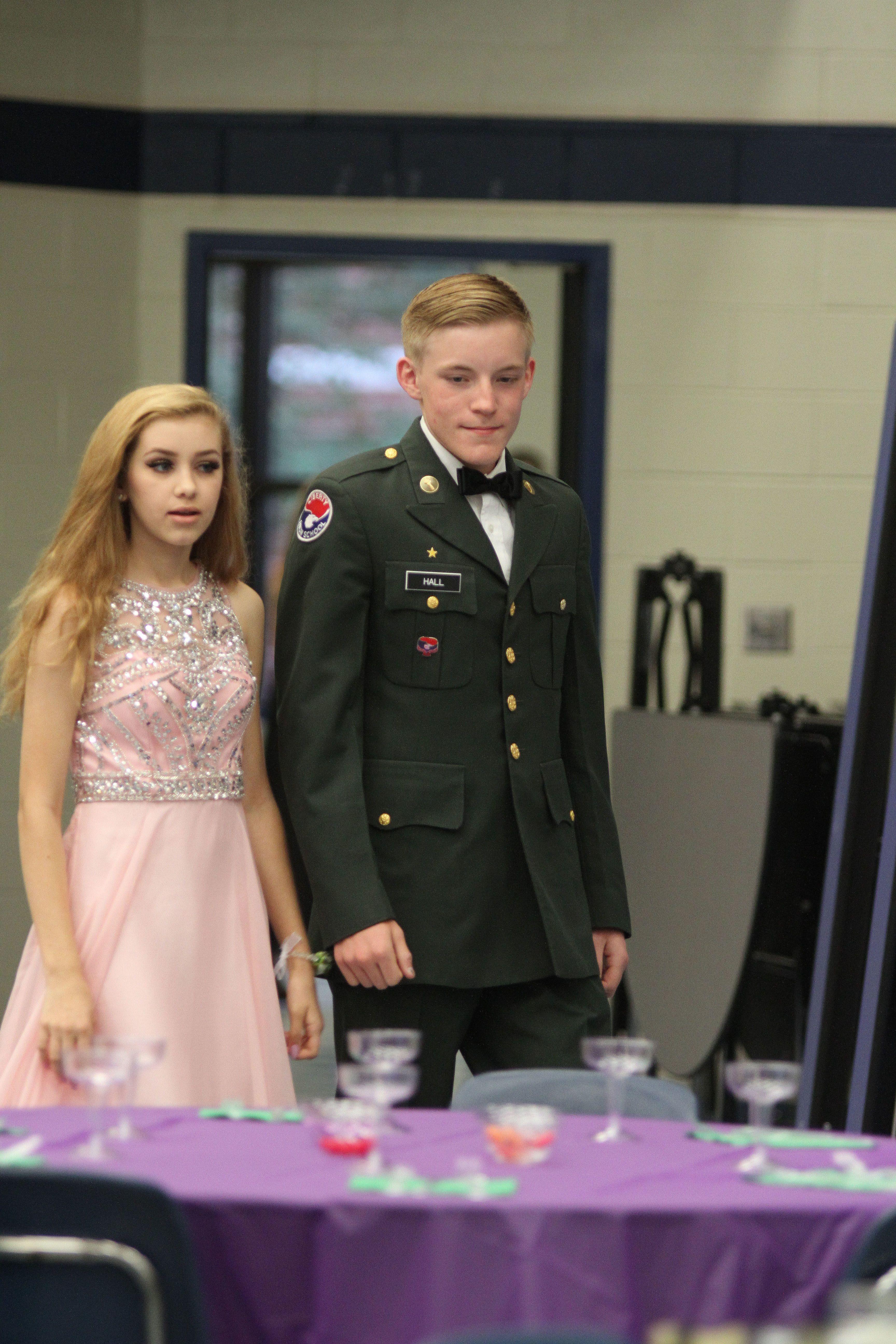 High School Military Ball Dresses