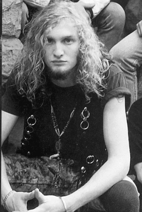 I Wish This Kid Had Cleaned Himself Up At This Age Layne Staley