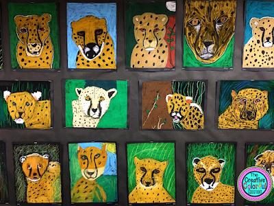 Cheetah Art Project