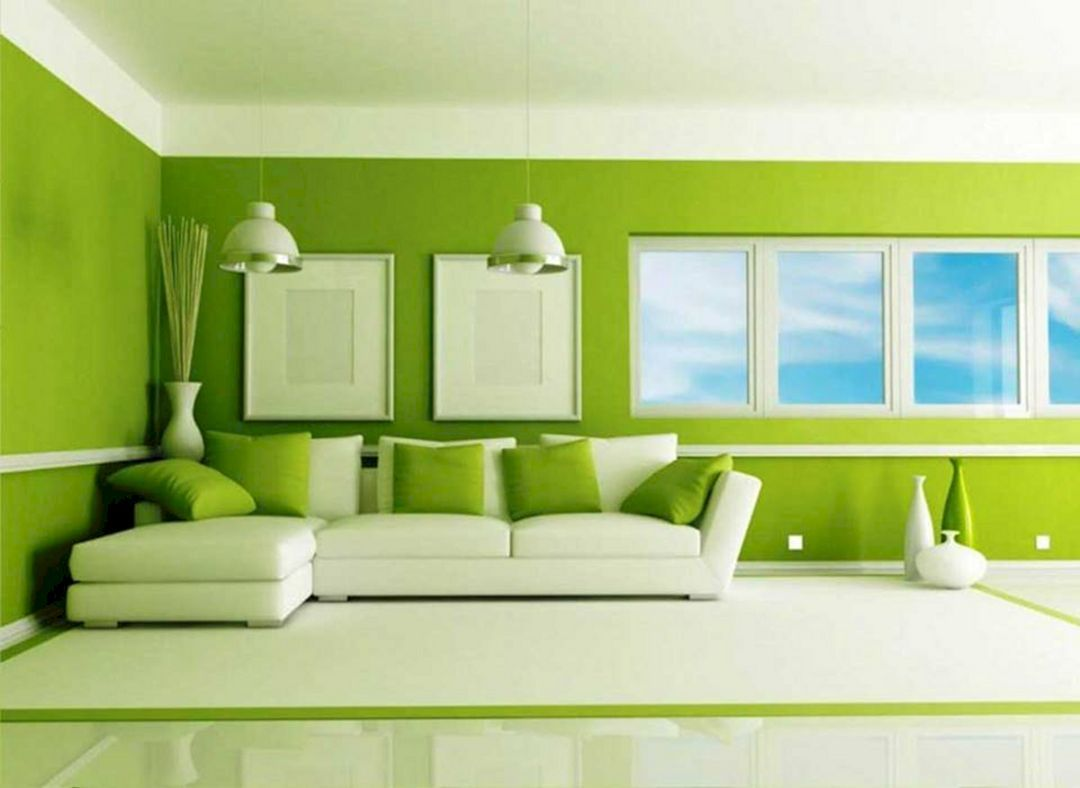 10 Awesome Living Room Green Paint Color Ideas That Look More Comfort Living Room Green Green Living Room Paint Colors Paint Colors For Living Room