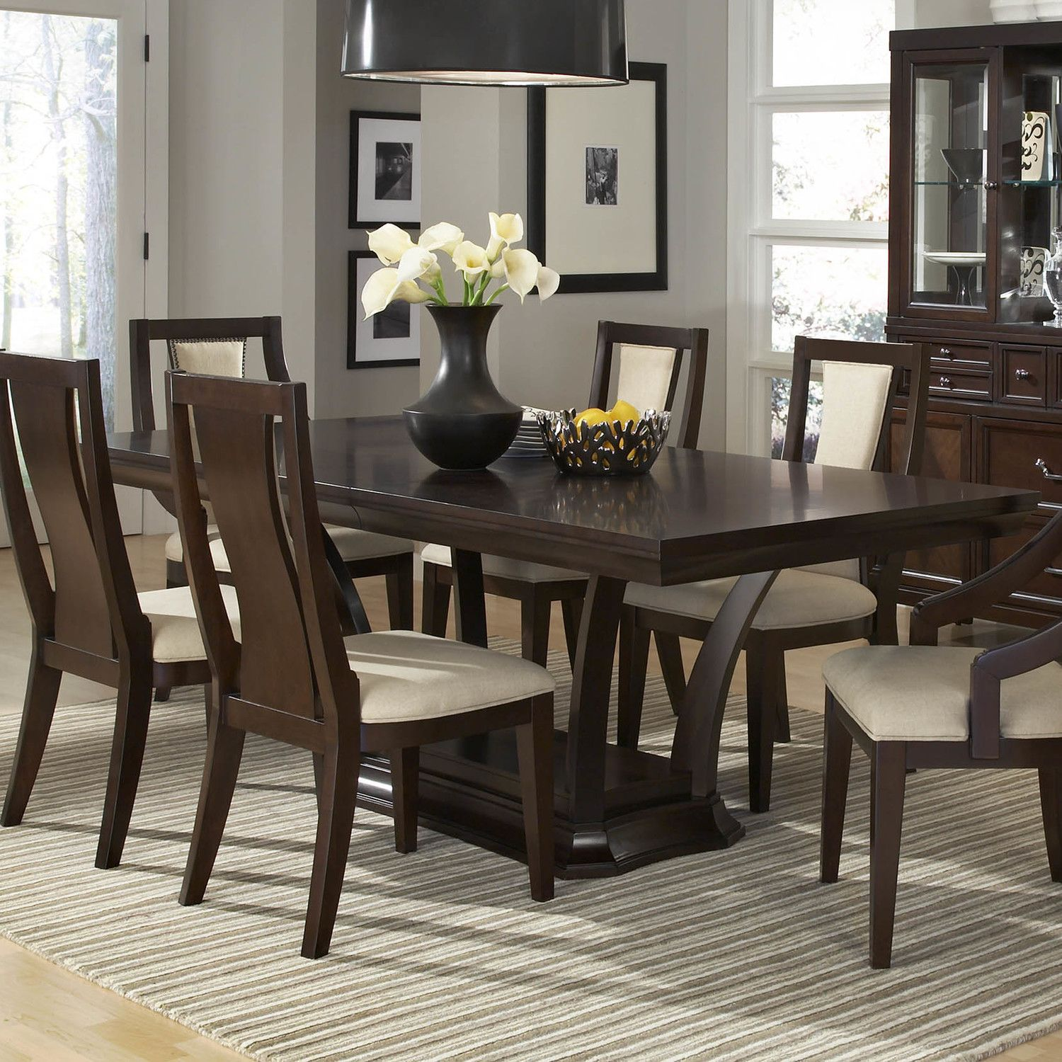 Najarian Furniture Newport 7 Piece Dining Set Muebles Para El