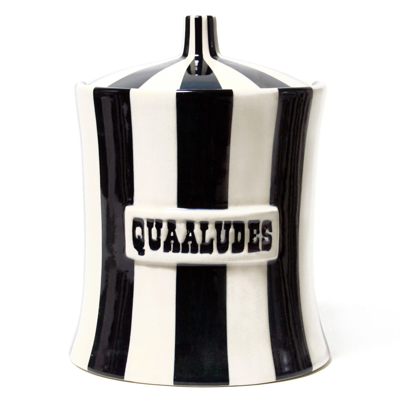 Quaaludes Canister | Cookie jars, Jonathan adler and Modern