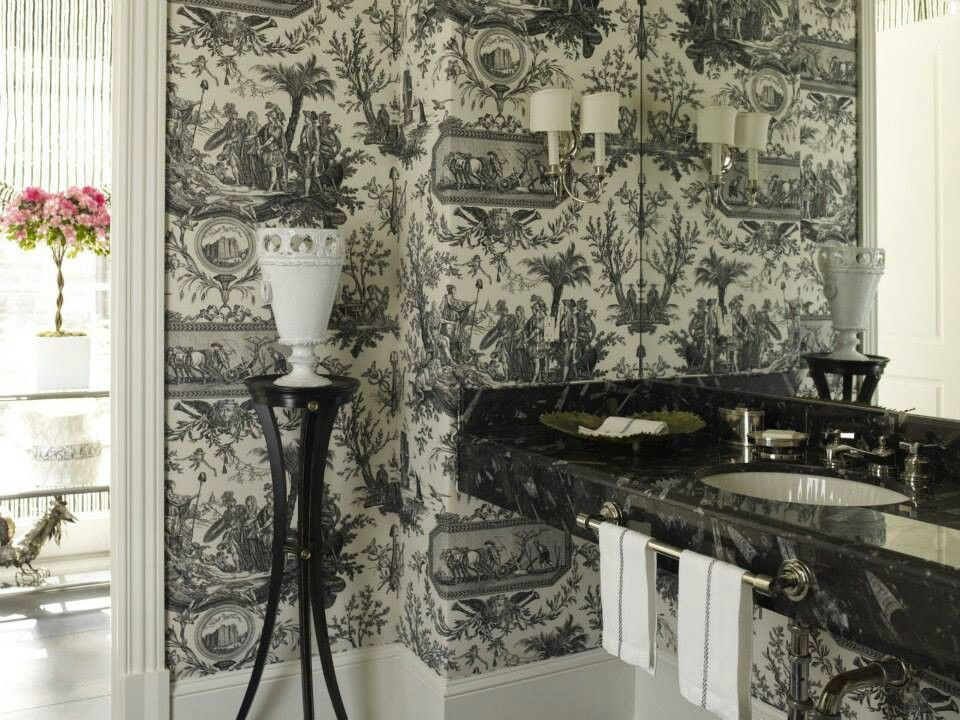 French wall papers
