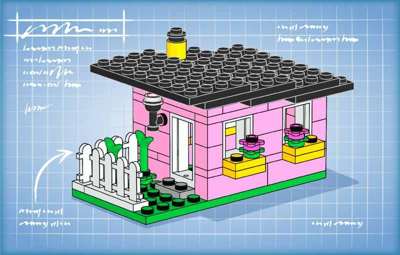 Lego Bunny House downloadable instructions | Lego | Pinterest ...