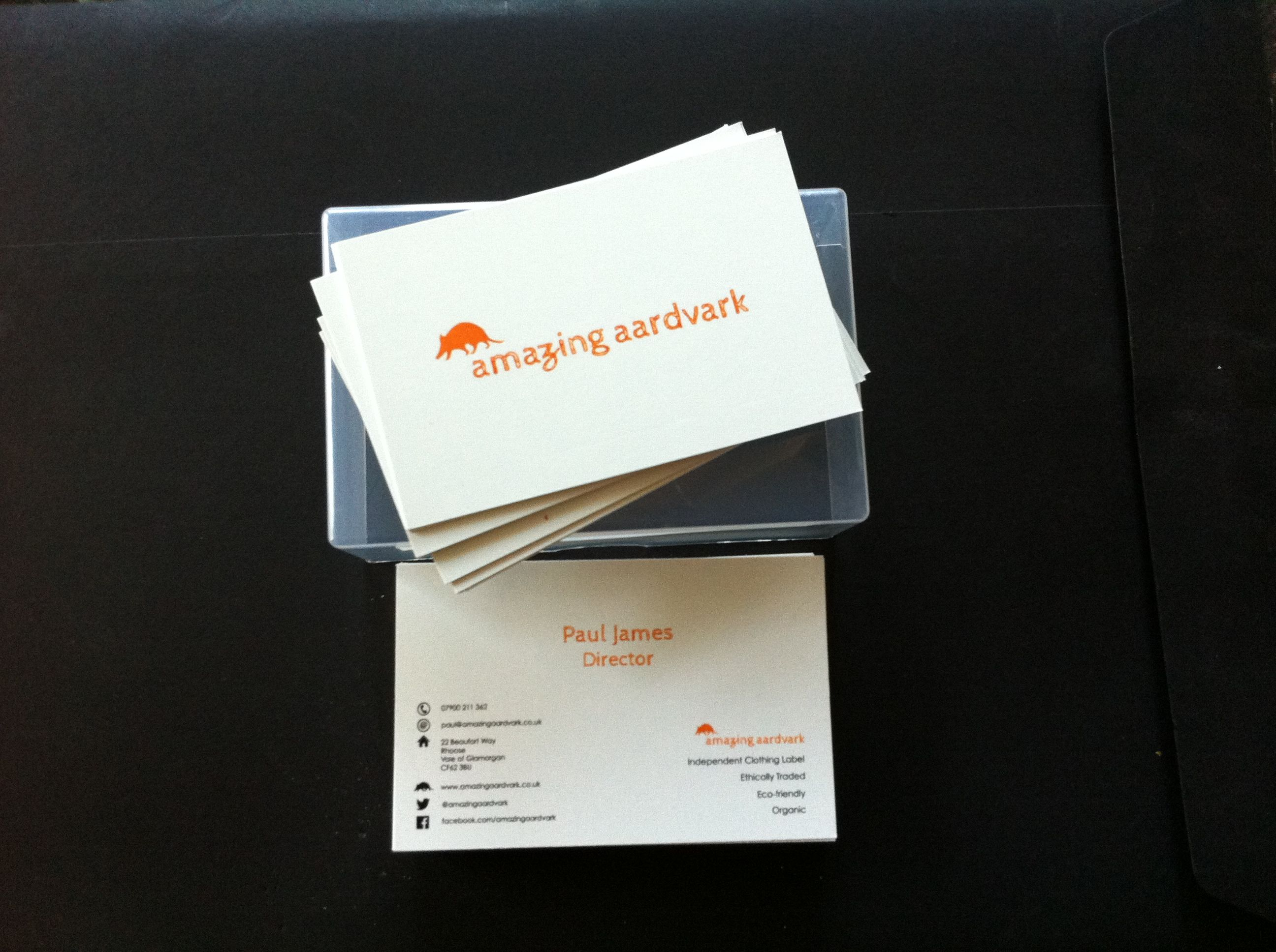 Custom business cards - great affordable hand-outs. www.quickbadge ...