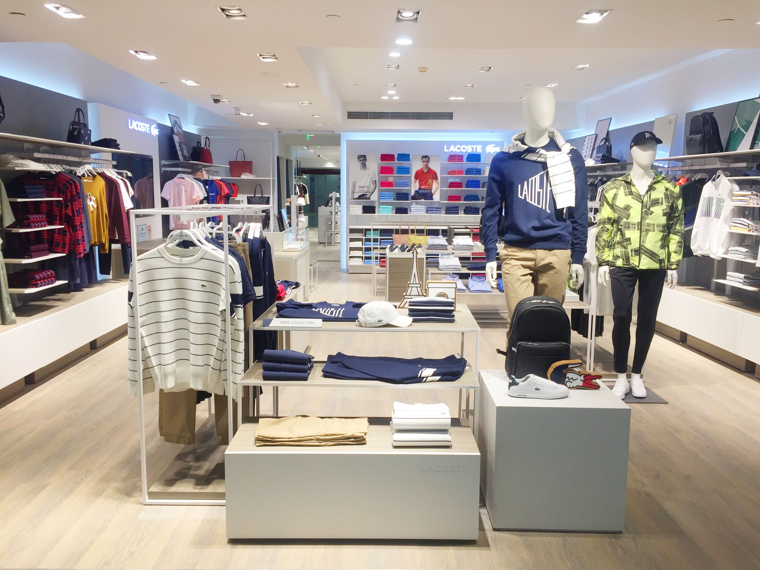 29331fb4619 Lacoste extends China travel retail presence with Shanghai Pudong store  opening - https://