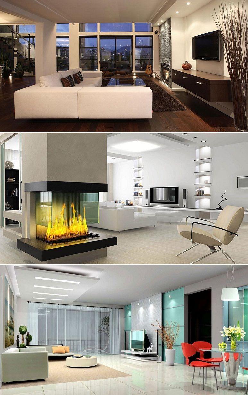 Modern Living Room Lcd Tv Stand Wooden Design Fa18b: House Design, Modern Kitchen Design
