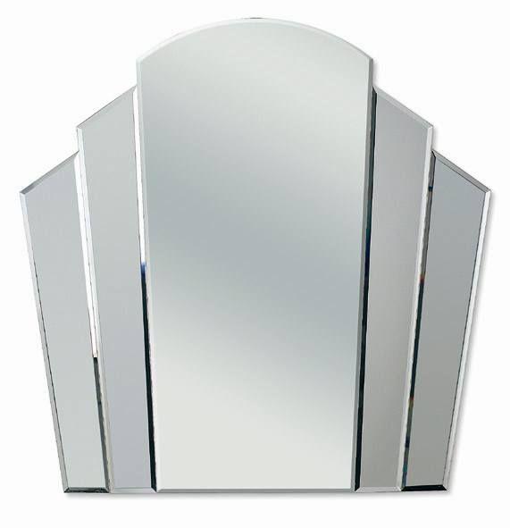 Art Deco Fantail Mirror