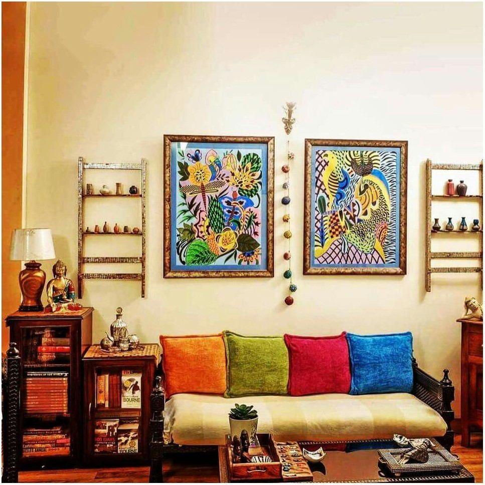 Indian Home Living Room Interior Design #design #Home # ...