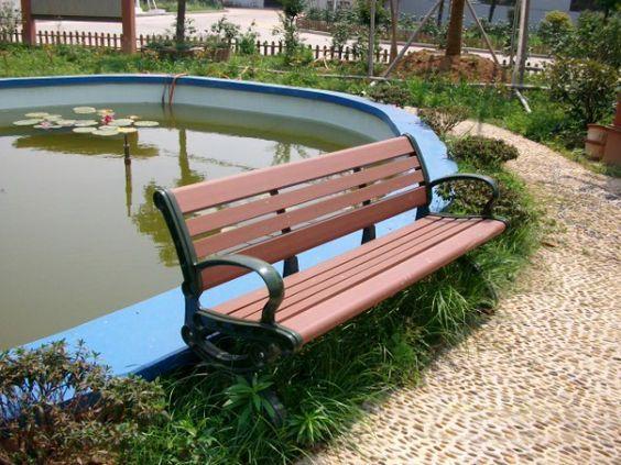 Diy Bench Ideas Park Wpc Long Life Park Bench