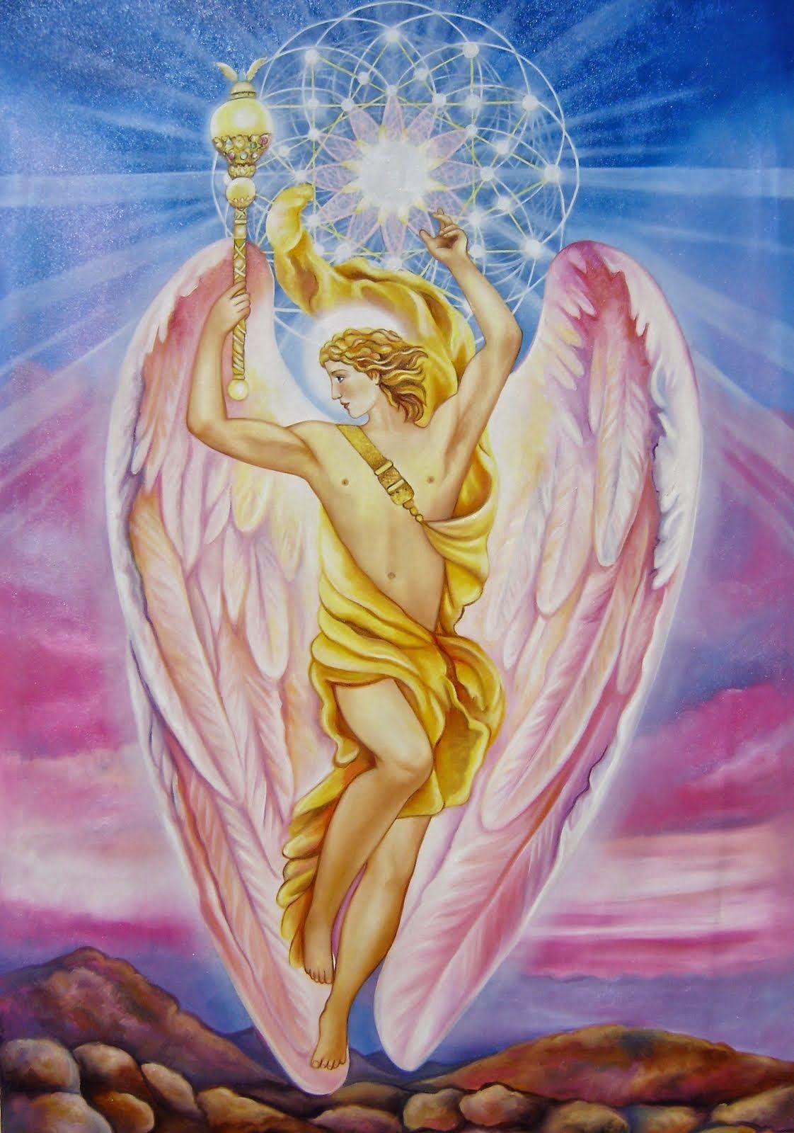 Arcangel Jofiel Abre Tus Alas Arcangel Jofiel Pinturas De