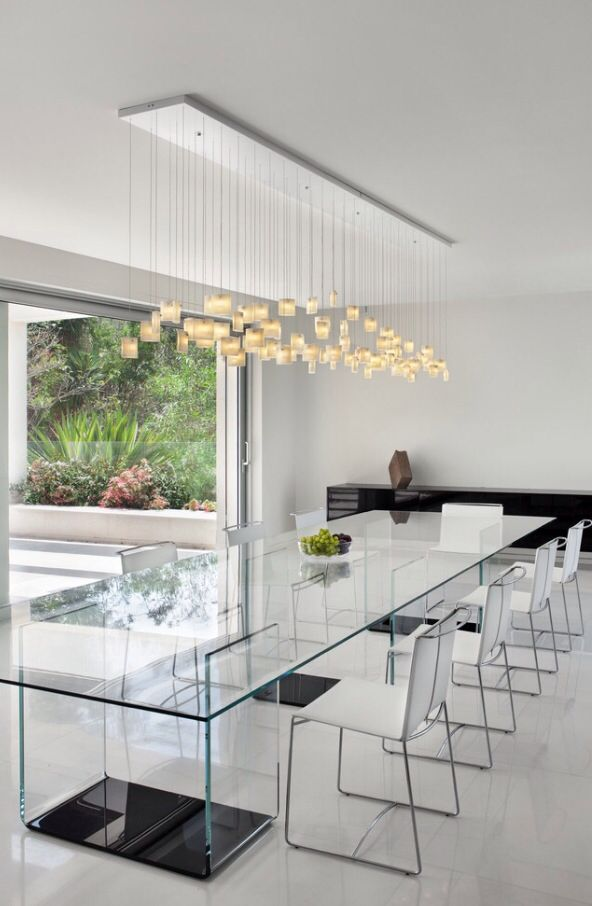 Luxury Dining Area Dining Table Lighting Dining Room