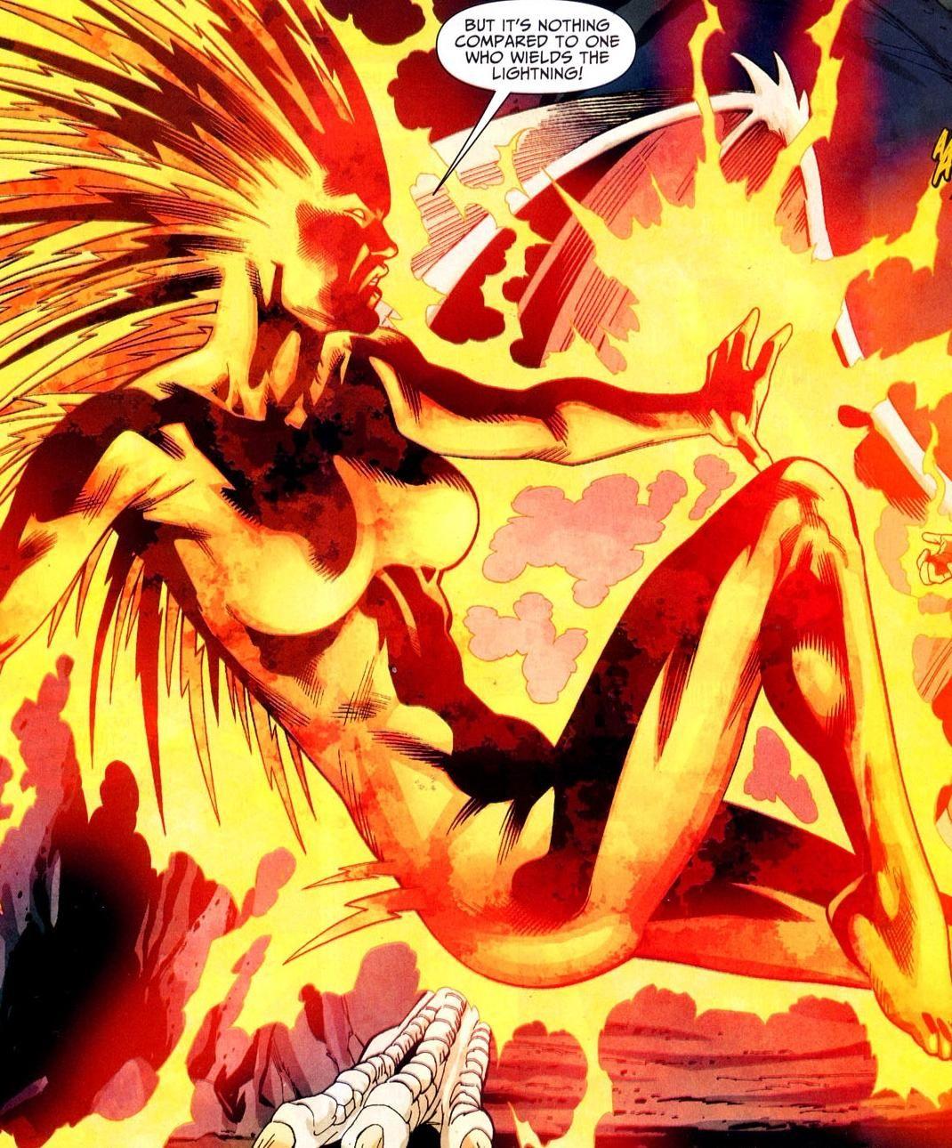 Lightning II (Jennifer Pierce) | Justice society of america ...