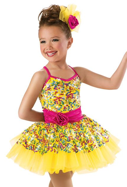 56deca339 Rainbow Sequin Recital Dress -Weissman Costumes