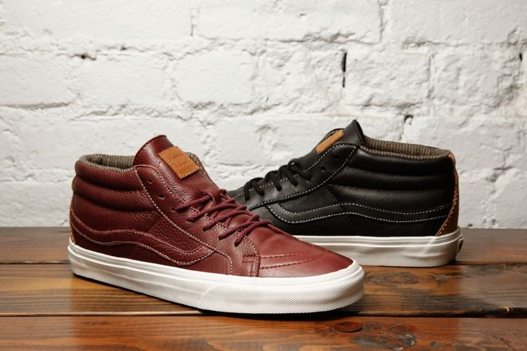 1e6f297ed0996d The VANS Leather Sk8-Mid CA