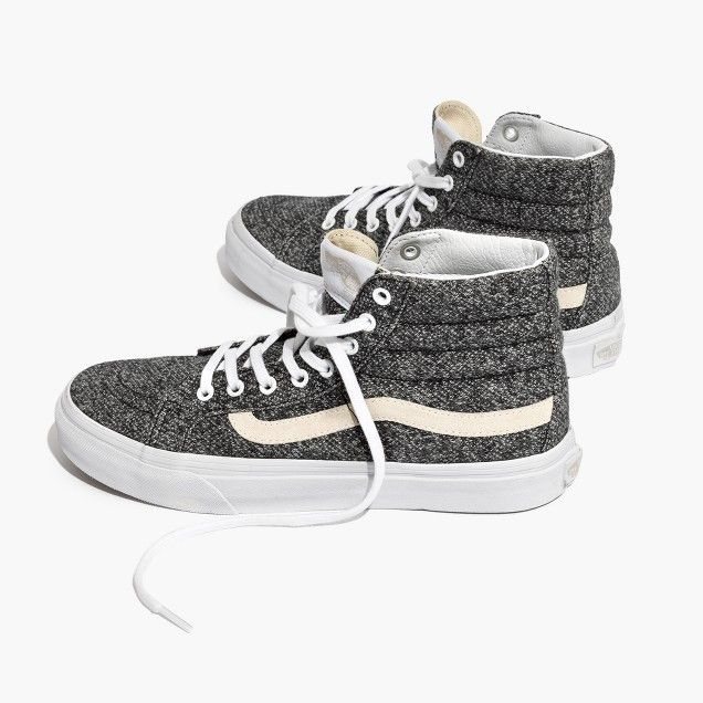 0d36d97270ea7e Vans® Unisex SK8-Hi High-Top Sneakers in Marled Fabric Women s size 8 🌙🌙
