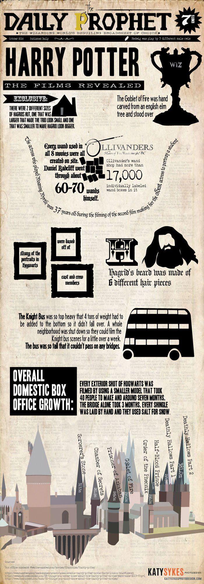 Harry Potter Infographic - Katy Sykes Photodesign