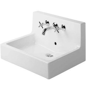 Duravit Du04536000001 Vero Wall Hung Bathroom Sink White