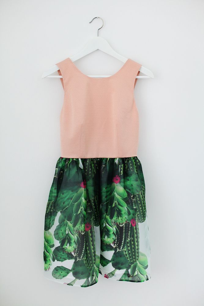 What's Inside You cactus dress by Eleonora Carisi S/S14 Shop Now! #cactus #eleonoracarisi