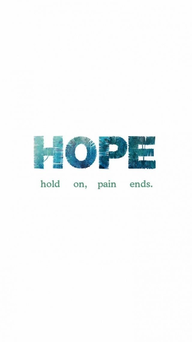 Hold On Pain Ends Quote