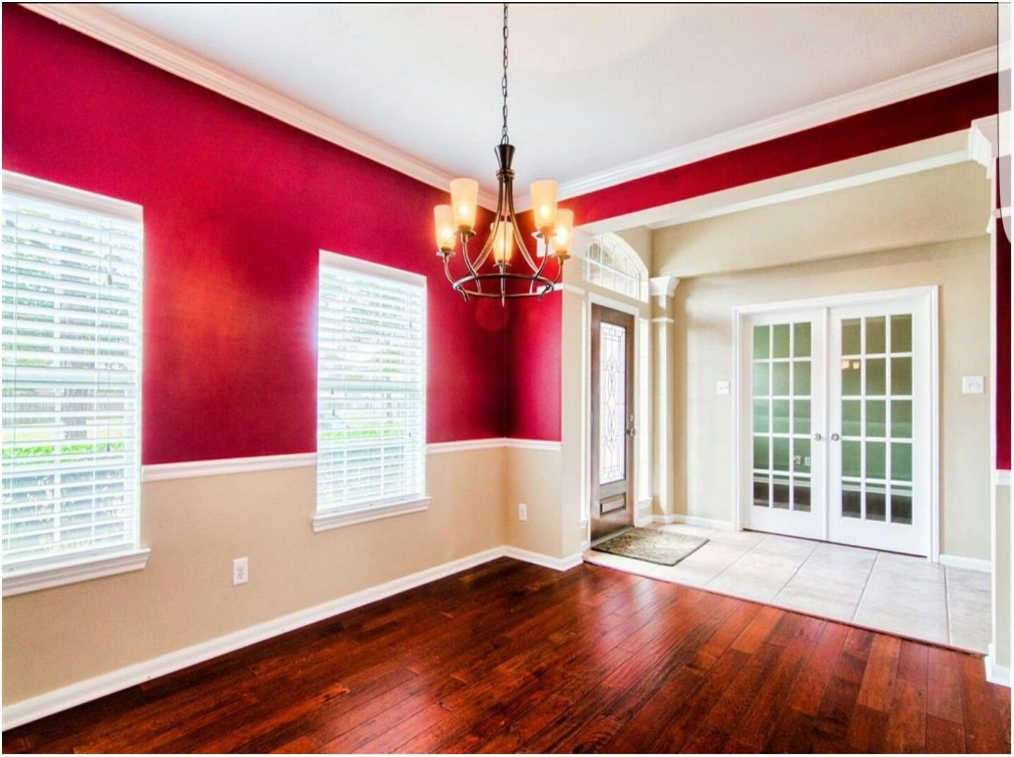 2 tone paint living room in 2020  living room wall color