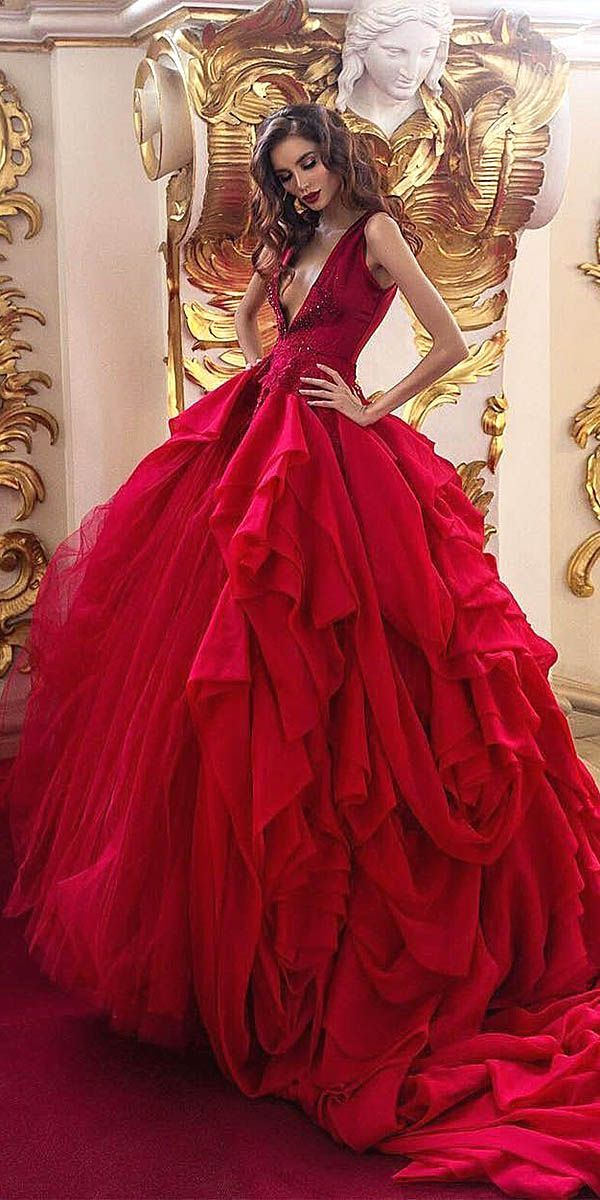 18 Various Ball Gown Wedding Dresses For Amazing Look ❤ See more ...