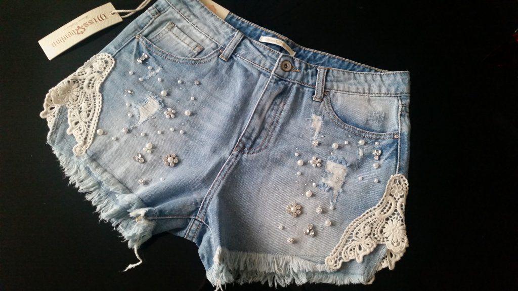 Italy Jeansy Boyfriend Zdobienia L Polecam 6349526250 Oficjalne Archiwum Allegro Fashion Womens Shorts Women
