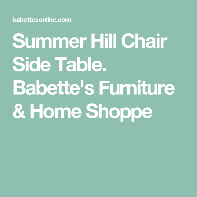 Babetteu0027s Furniture U0026 Home Shoppe