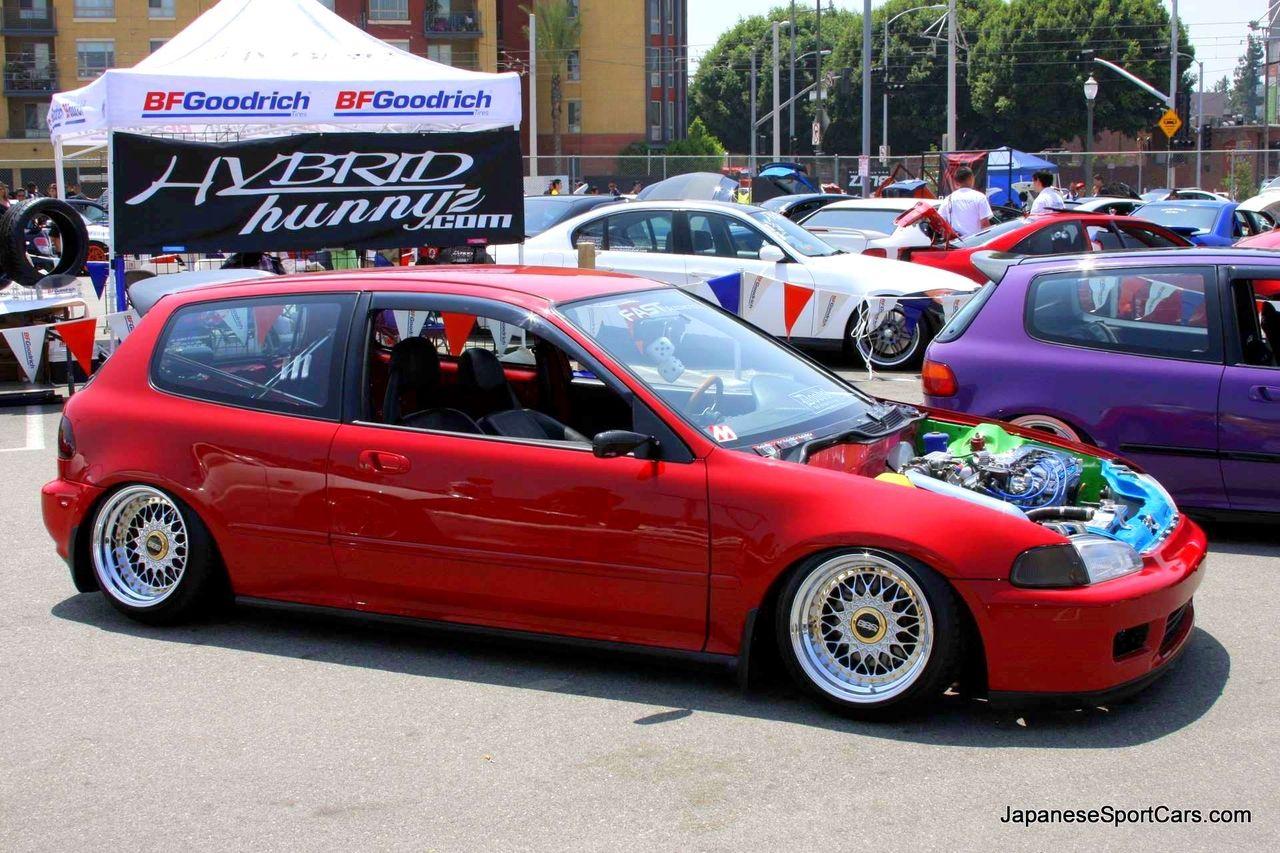 Custom Honda Civic Hatchback Fifth Generation 92 95