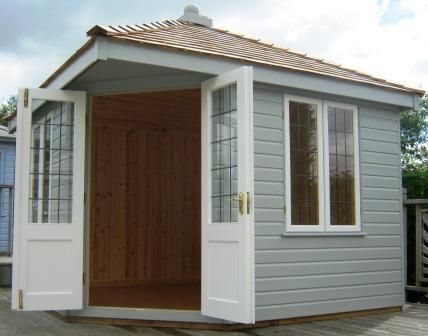 Garden Sheds And Summerhouses 3.0 x 3.0m weybourne summerhouse | summerhouses from crane garden
