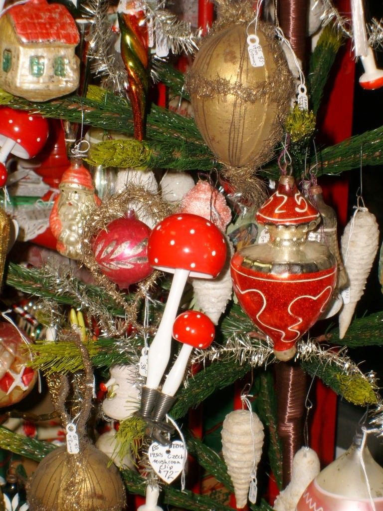 Japanese Christmas Tree Ornaments.Christmas Nostalgia Vintage Christmas Antique Ornaments