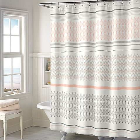 Add a soft sophisticated look to your bathroom with this 72 x 72 ...
