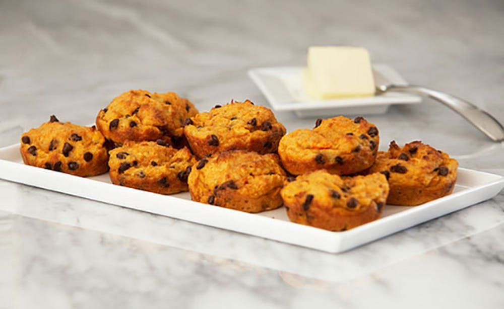 Carrot apple ginger tea cakes from juicer pulp tea cakes