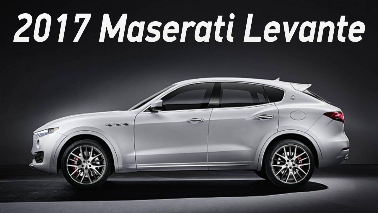 2017 Maserati Levante Unveiled