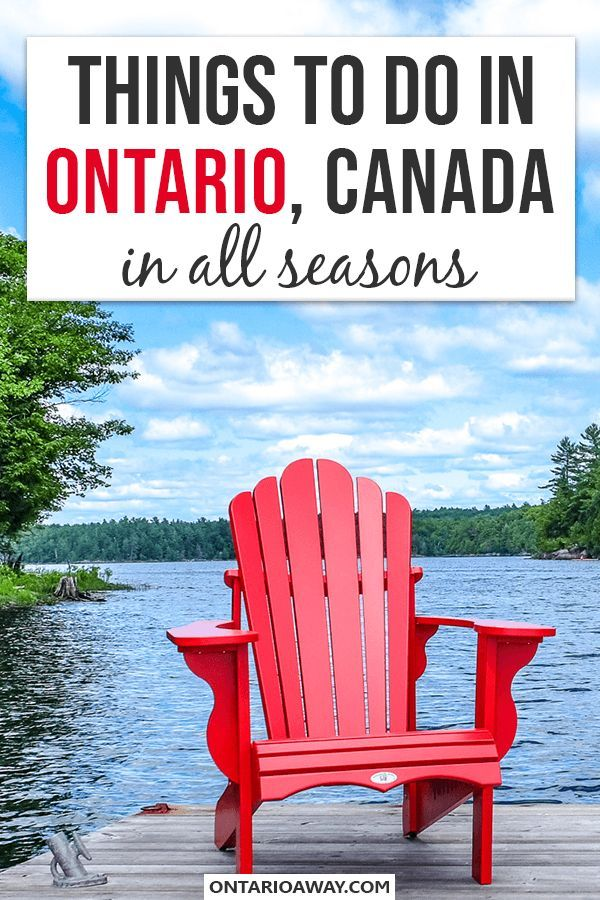Great Things to Do in Ontario, Canada For All Seasons